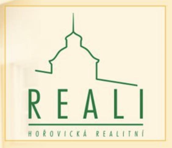 logo firmy REALI-HOŘOVICKÁ REALITNÍ